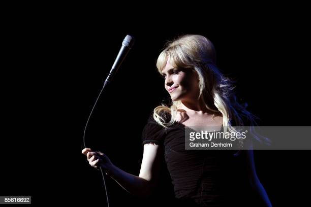 Singer Duffy performs on stage at the Sydney Opera House on March 26, 2009 in Sydney, Australia.