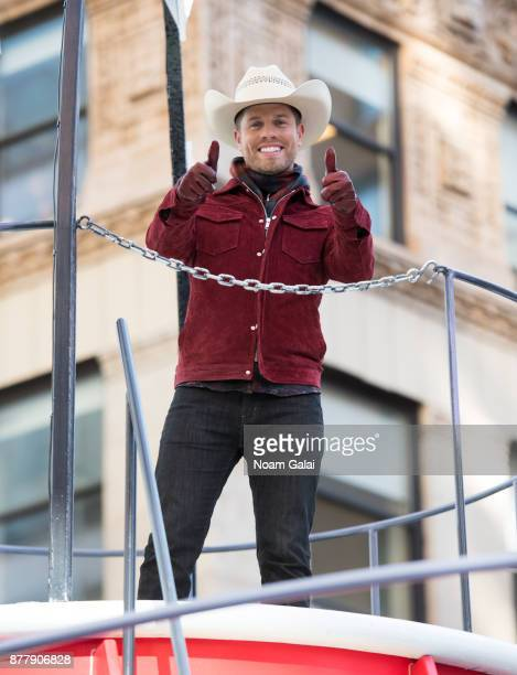 Singer Dustin Lynch attends the 91st Annual Macy's Thanksgiving Day Parade on November 23 2017 in New York City