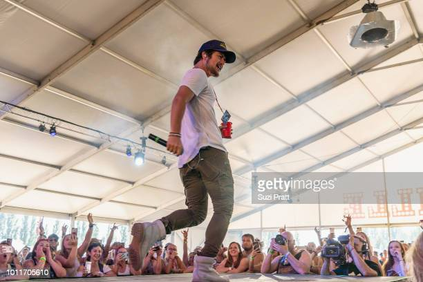 Singer Dylan Schneider performs at Watershed Festival at Gorge Amphitheatre on August 5 2018 in George Washington