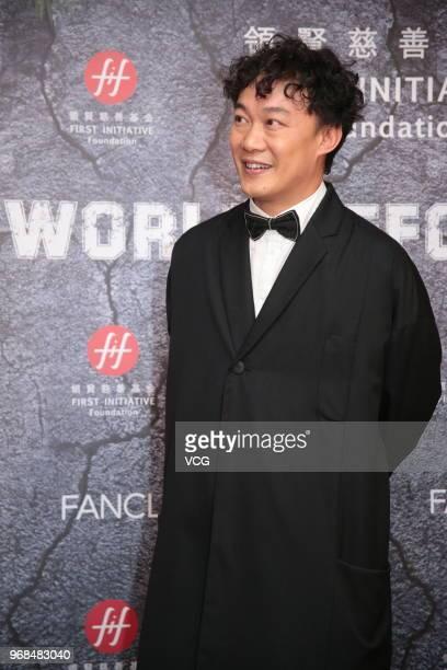 Singer Eason Chan Yickshun attends First Initiative Foundation charity dinner on June 6 2018 in Hong Kong Hong Kong