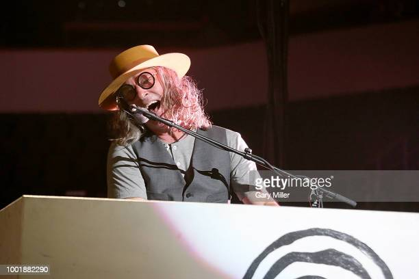Singer Ed Roland performs in concert with Collective Soul at HEB Center on July 18 2018 in Cedar Park Texas