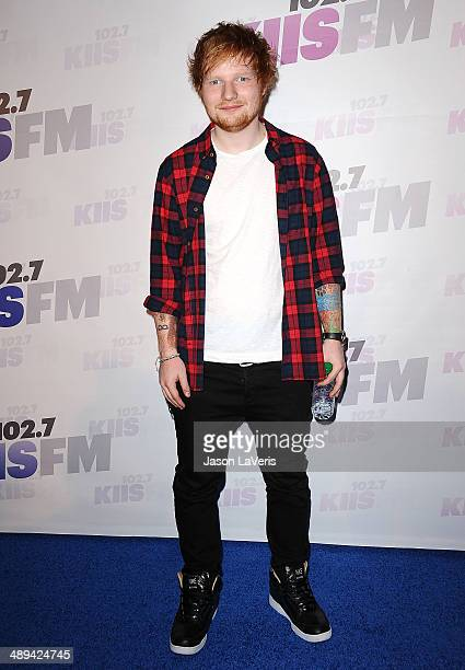 Singer Ed Sheeran attends 1027 KIIS FM's 2014 Wango Tango at StubHub Center on May 10 2014 in Los Angeles California