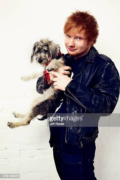 Singer Ed Sheeran is photographed for People Magazine on October 30 2013 in New York City