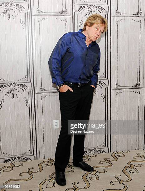 Singer Eddie Money attends AOL Build presents Eddie Money and Dez Money at AOL Studios In New York on November 30 2015 in New York City