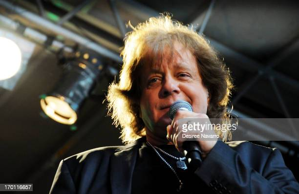 Singer Eddie Money performs during 'FOX Friends' All American Concert Series outside of FOX Studios on June 7 2013 in New York City