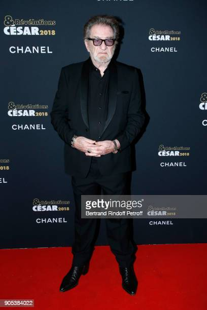 Singer Eddy Mitchell attends the 'Cesar Revelations 2018' Party at Le Petit Palais on January 15 2018 in Paris France
