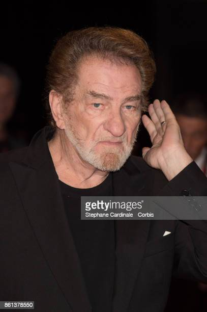 Singer Eddy Mitchell attends the Opening Ceremony of the 9th Film Festival Lumiere on October 14 2017 in Lyon France