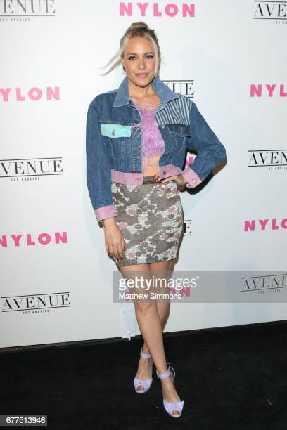 Singer Eden xo attends NYLON's Annual Young Hollywood May Issue Event at Avenue on May 2 2017 in Los Angeles California