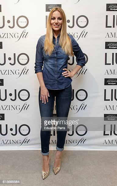 Nombre provisional alquiler Examinar detenidamente  36 Edurne Presents Bottom Up Amaizing Fit By Liu Jo Photos and Premium High  Res Pictures - Getty Images