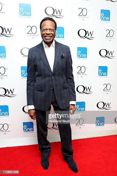 Singer Edwin Hawkins of The Edwin Hawkins Singers poses for photos during red carpet for gospel superstar Donald Lawrence's 20 Year Celebration live...
