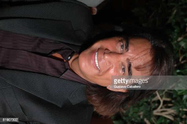 Singer El Puma at New Year's Eve party at the at the Delano Hotel on January 1 2005 in Miami Beach Florida