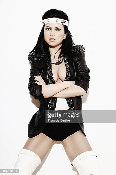 Singer Elena Alexandra Apostoleanu best known only as Inna is a Romanian dance singer She poses at a portrait session in Paris on September 2010