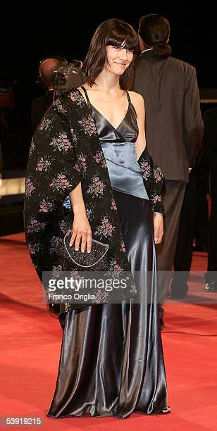 Singer Elisa arrives at the premiere for All The Invisible Children at the Palazzo del Cinema as part of the 62nd Venice Film Festival on September 1...
