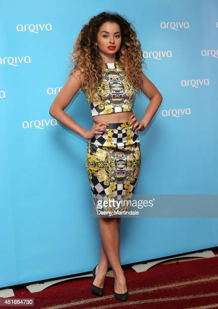 Singer Ella Eyre attends the Arqiva Commercial Radio Awards at Westminster Bridge Park Plaza Hotel on July 3 2014 in London England