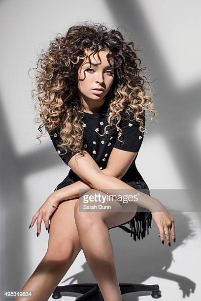 Singer Ella Eyre is photographed for Harrods magazine on August 11 2015 in London England
