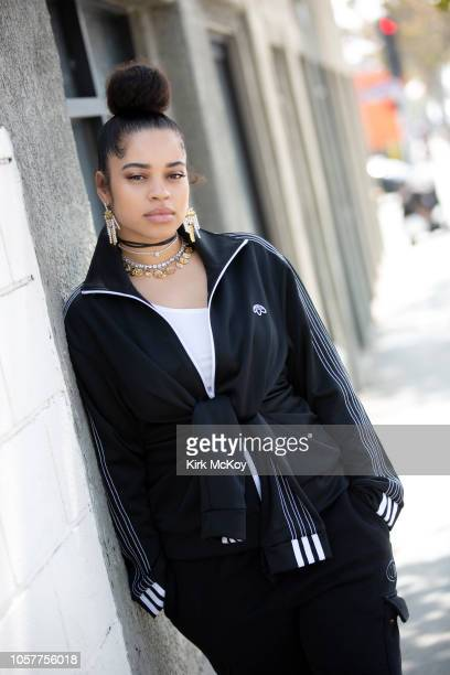 Singer Ella Mai is photographed for Los Angeles Times on August 24 2018 in Santa Monica California PUBLISHED IMAGE CREDIT MUST READ Kirk McKoy/Los...