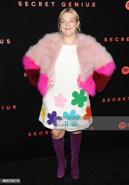 Singer Elle King attends Spotify's inaugural Secret Genius Awards at Vibiana Cathedral on November 1 2017 in Los Angeles California
