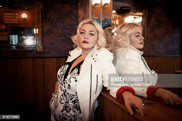 Singer Elle King is photographed for The Untitled Magazine on December 15 2014 in New York City CREDIT MUST READ Indira Cesarine/The Untitled...