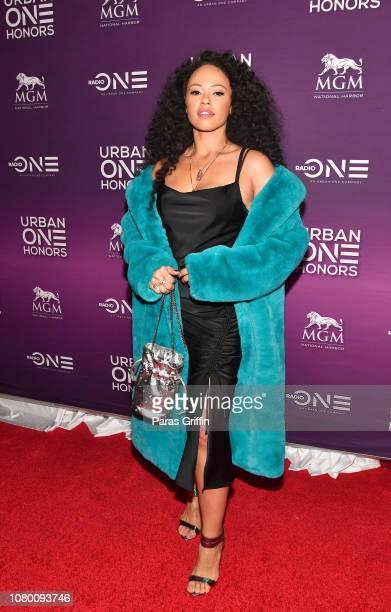 Singer Elle Varner attends 2018 Urban One Honors at La Vie on December 9 2018 in Washington DC
