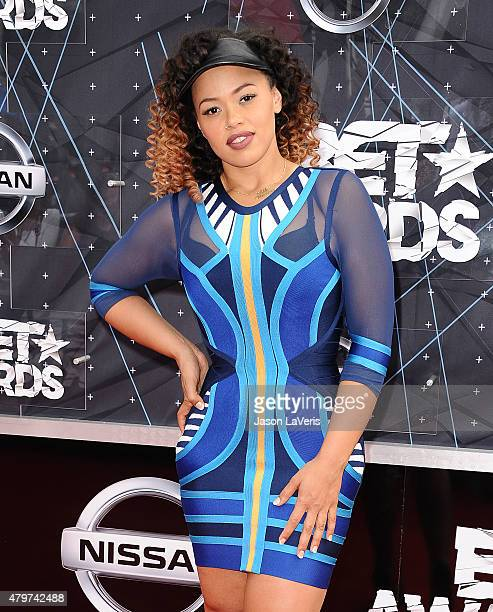 Singer Elle Varner attends the 2015 BET Awards at the Microsoft Theater on June 28 2015 in Los Angeles California