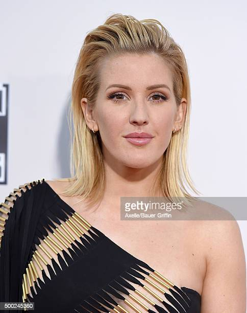 Singer Ellie Goulding arrives at the 2015 American Music Awards at Microsoft Theater on November 22 2015 in Los Angeles California