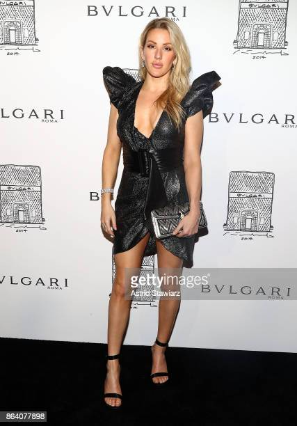 Singer Ellie Goulding attends Bulgari 5th Avenue flagship store opening on October 20 2017 in New York City