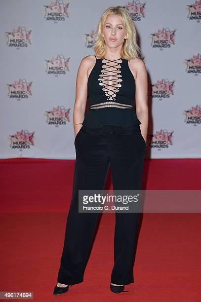 Singer Ellie Goulding attends the 17th NRJ Music Awards at Palais des Festivals on November 7 2015 in Cannes France