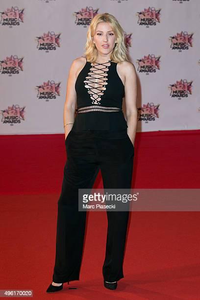 Singer Ellie Goulding attends the 17th NRJ Music Awards ceremony at Palais des Festivals on November 7 2015 in Cannes France