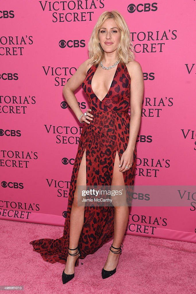 Singer Ellie Goulding attends the 2015 Victoria's Secret Fashion Show at Lexington Avenue Armory on November 10, 2015 in New York City.
