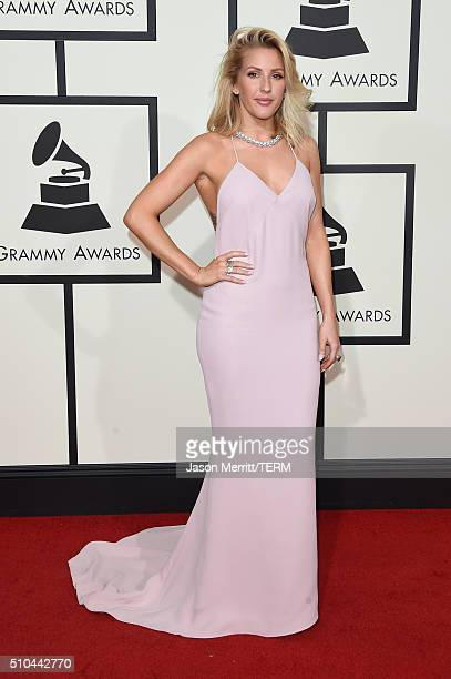 Singer Ellie Goulding attends The 58th GRAMMY Awards at Staples Center on February 15 2016 in Los Angeles California