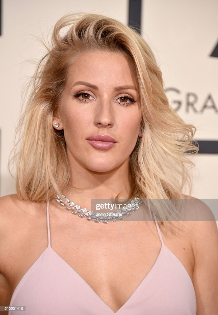 Singer Ellie Goulding attends The 58th GRAMMY Awards at Staples Center on February 15, 2016 in Los Angeles, California.