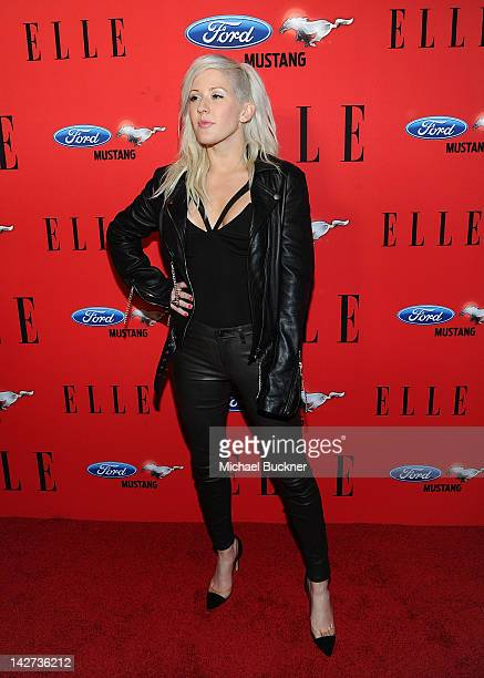 Singer Ellie Goulding attends the Third Annual ELLE Women In Music Event at Avalon on April 11 2012 in Hollywood California