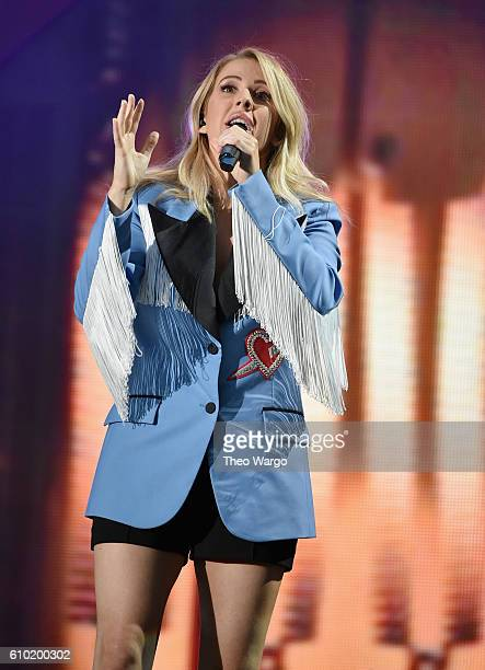 Singer Ellie Goulding performs at the 2016 Global Citizen Festival In Central Park To End Extreme Poverty By 2030 at Central Park on September 24...