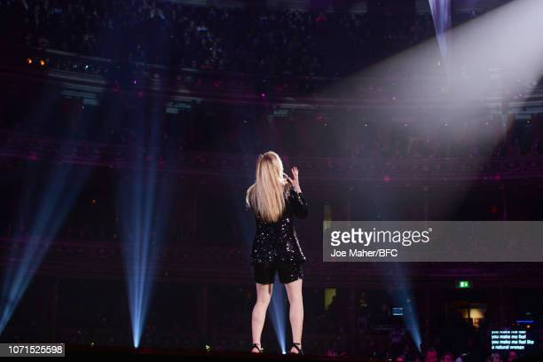 Singer Ellie Goulding performs during The Fashion Awards 2018 In Partnership With Swarovski at Royal Albert Hall on December 10 2018 in London England