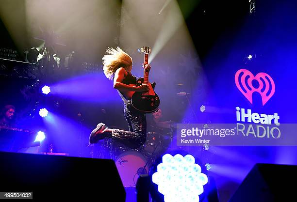 Singer Ellie Goulding performs onstage during 106.1 KISS FM's Jingle Ball 2015 presented by Capital One at American Airlines Center on December 1,...