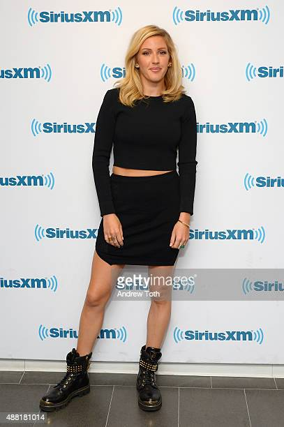 Singer Ellie Goulding visits SiriusXM Studios on September 14 2015 in New York City