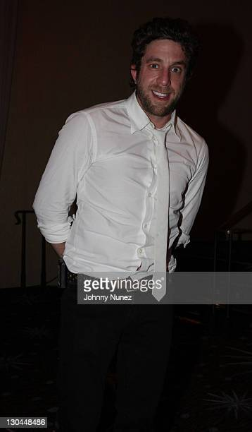 Singer Elliott Yamin attends the 11th Annual Uniting Nations Awards viewing and dinner after party at The Beverly Hilton hotel on March 7 2010 in...
