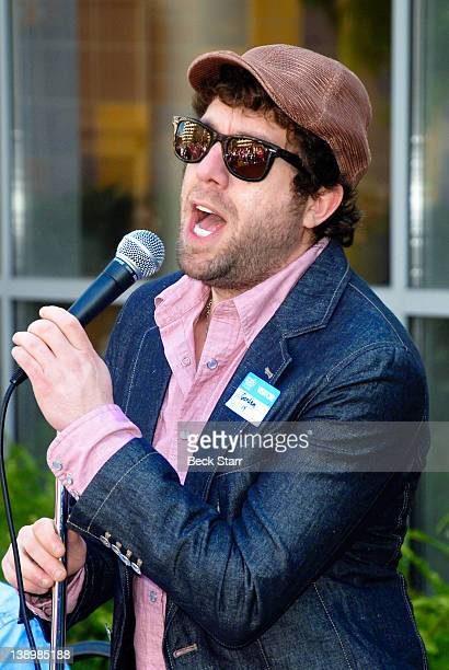 Singer Elliott Yamin attends Trueheart Events 1st annual All You Need Is Love Valentine's Day Party at Children's Hospital Los Angeles on February 14...