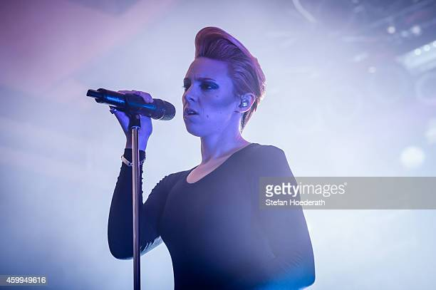 Singer Elly Jackson of La Roux performs live on stage during a concert at Astra on December 4 2014 in Berlin Germany