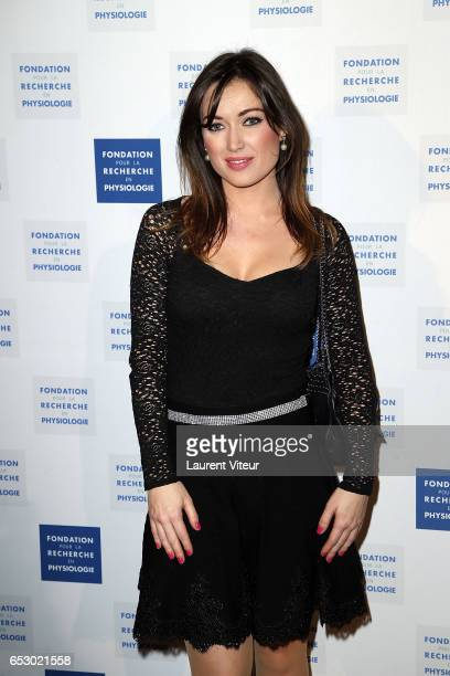 Singer Elsa Esnoult attends 'La Recherche en Physiologie' Charity Gala at Four Seasons Hotel George V on March 13 2017 in Paris France