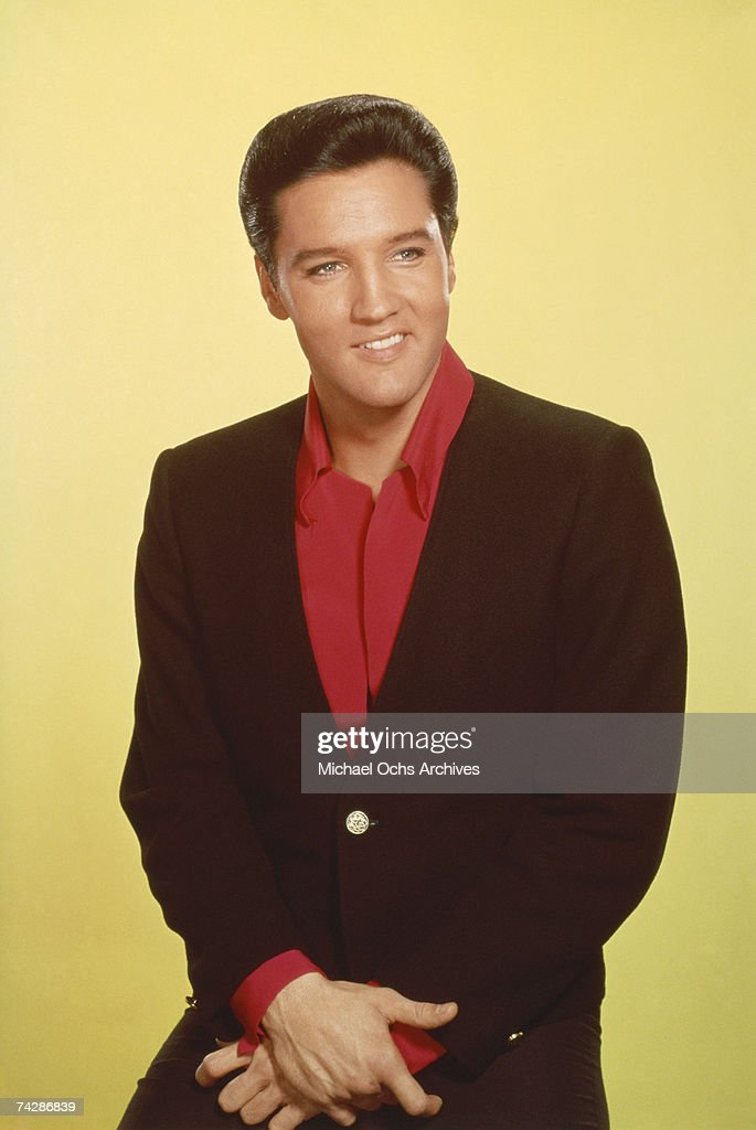 Singer Elvis Presley poses for a portrait for the release of