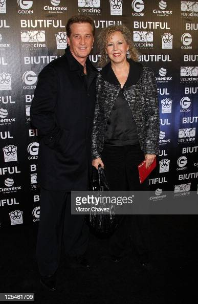 Singer Emanuel and Mercedes Aleman attends the Mexico City ...