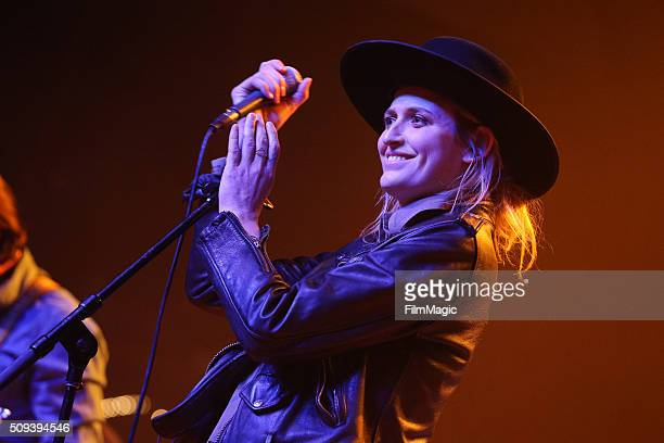 Singer Emily Armstrong of Dead Sara performs onstage at Fleetwood Mac Fest presented by The Best Fest at the Fonda Theatre on February 9 2016 in Los...