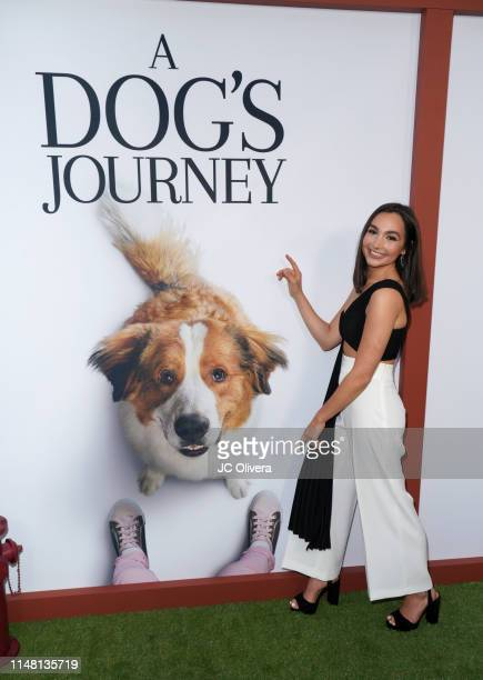 Singer Emily Bear attends the premiere of Universal Pictures' ' A Dog's Journey' at ArcLight Hollywood on May 09 2019 in Hollywood California