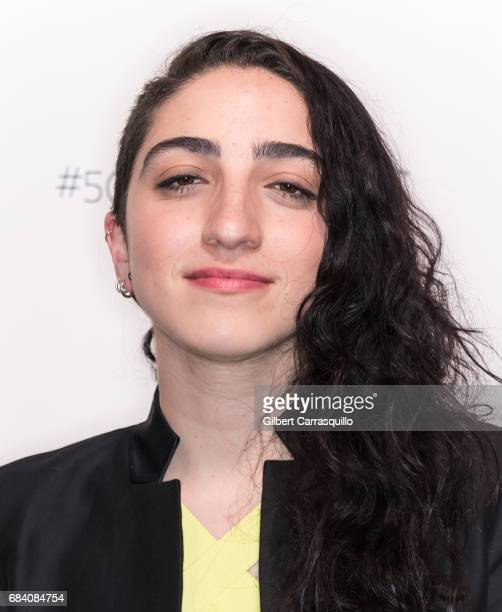 Singer Emily Estefan arrives at People en Espanol's 50 Most Beautiful Gala 2017 at Espace on May 16 2017 in New York City