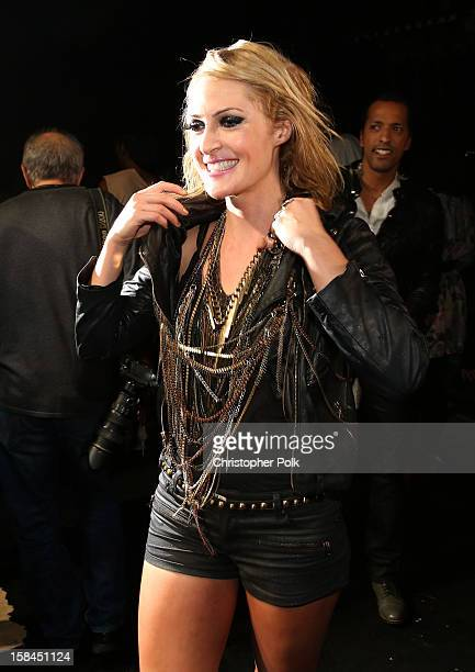 Singer Emily Haines of Metric attends 'VH1 Divas' 2012 at The Shrine Auditorium on December 16 2012 in Los Angeles California