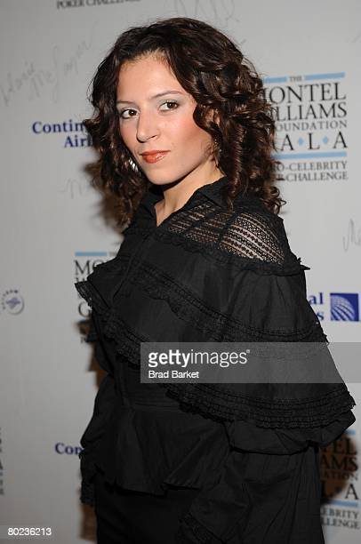 Singer Emily King attends the Montel Williams MS Foundation Gala at Cipriani 42nd Street March 13 2008 in New York City