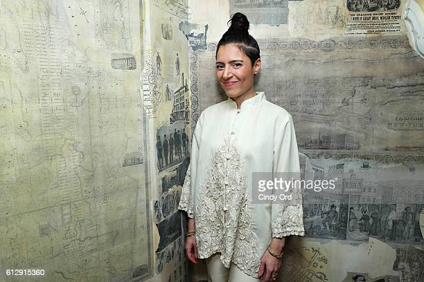 Singer Emily King attends 'Up Close Personal with Benny Blanco' at Subculture NYC on October 5 2016 in New York City