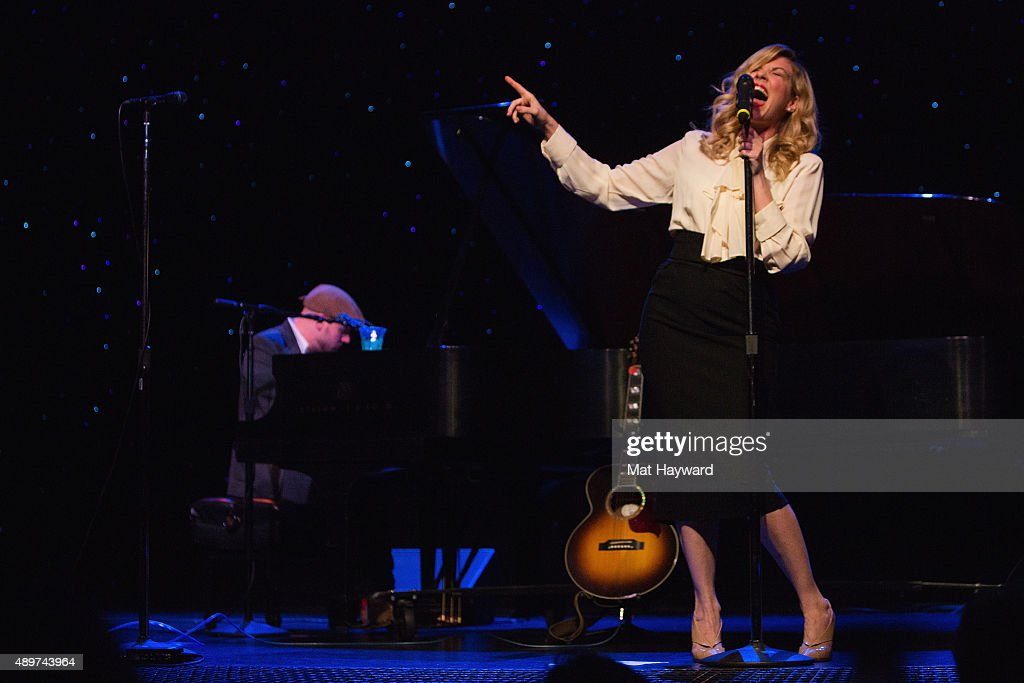 Singer Emily West performs on stage at The Triple Door on September 23 2015 in & Emily West In Concert - Seattle WA Photos and Images | Getty Images