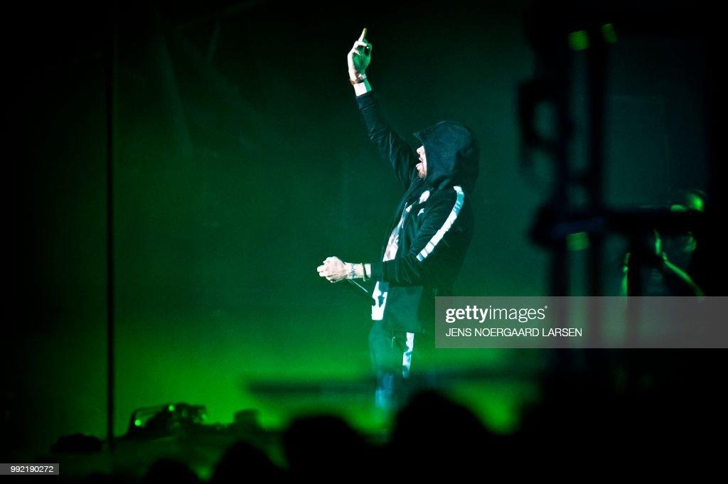 DENMARK-MUSIC-ROSKILDE : News Photo